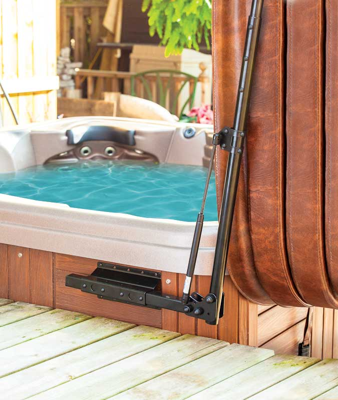 Hydraulic Hot Tub and Spa Lifts